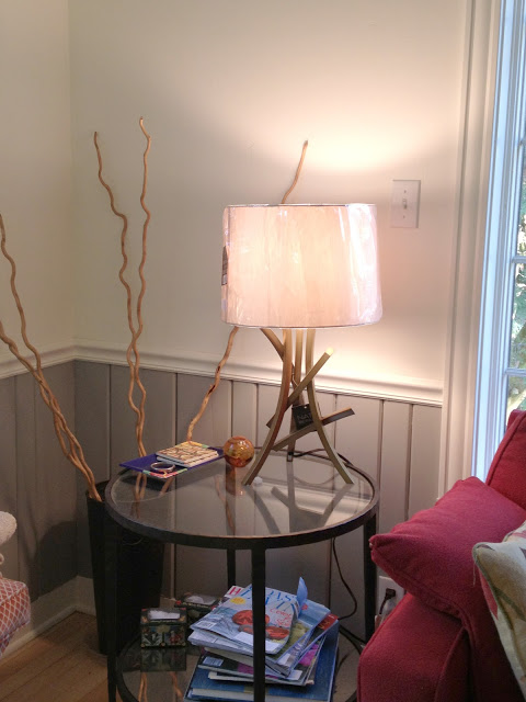 Target's Nate Berkus lamp -- The Impatient Gardener