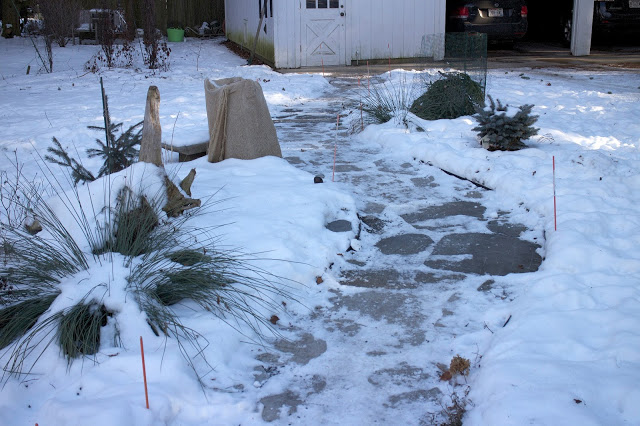 Winter plant protection: burlap and cages -- The Impatient Gardener