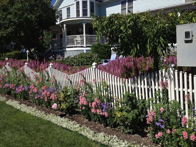 Private Mackinac Island garden -- The Impatient Gardener