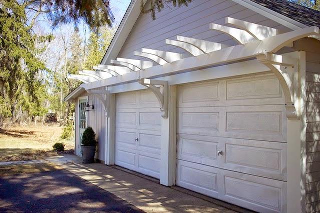 pergola over garage