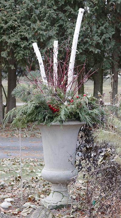 winter container design