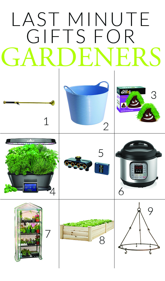 last-minute gifts for gardeners
