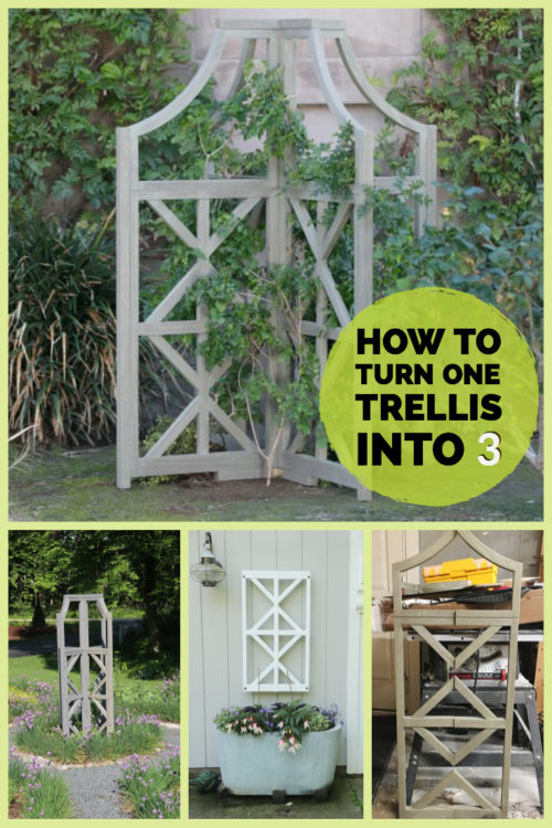 How to turn one trellis into 3