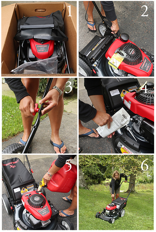 how to set up a troy-bilt lawn mower