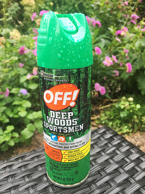 Mosquito repellent for gardeners