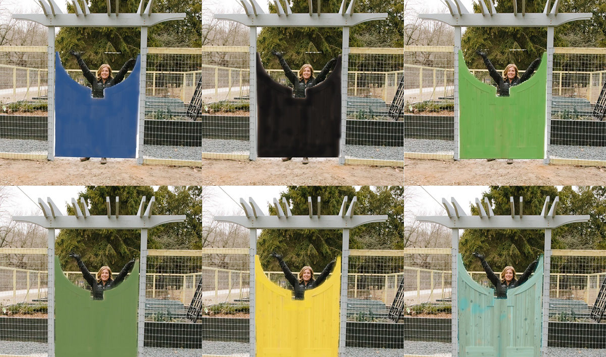 Gates in all colors