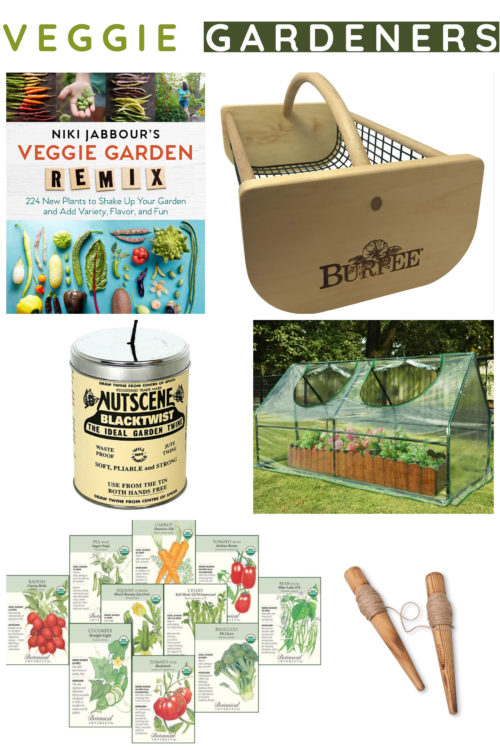 Gifts for veggie gardeners