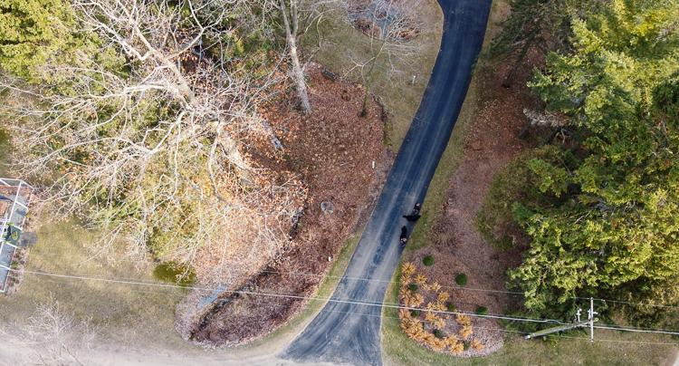 driveway drone