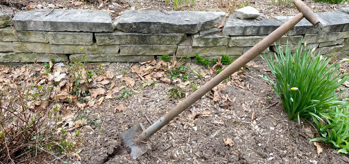 Sneeboer spade