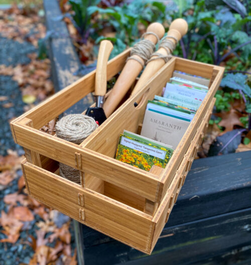 tool and seed organizer