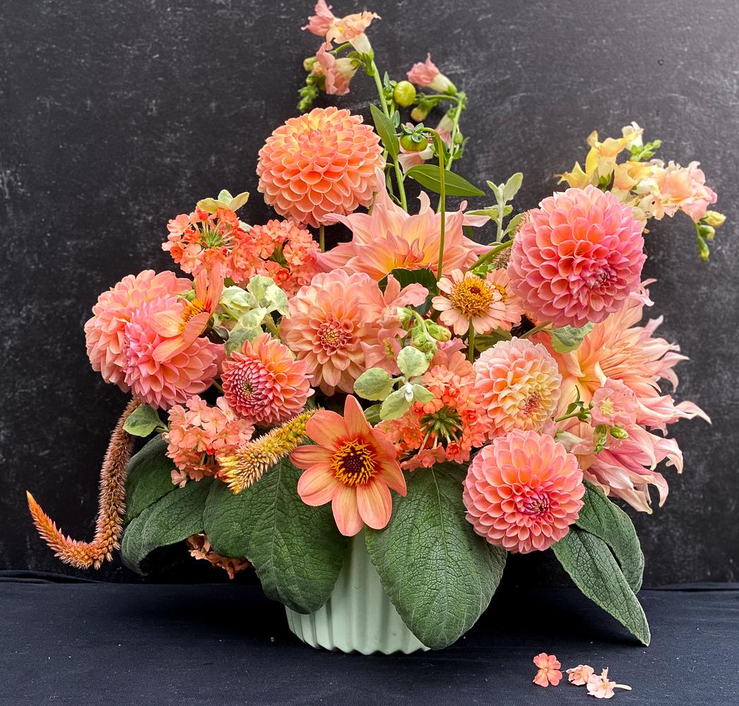 apricot bouquet